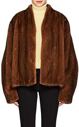 The Row Women's Moona Mink-Fur Jacket - Amber