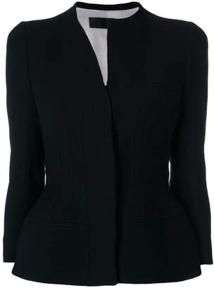 Haider Ackermann fitted jacket