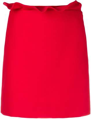 Valentino frill trim mini skirt