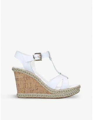 Carvela Karoline leather wedge sandals