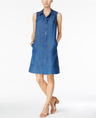 Style & Co Denim Shirtdress, Only at Macy's $59.50 thestylecure.com
