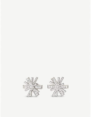 Folli Follie Star Flower sterling silver earrings