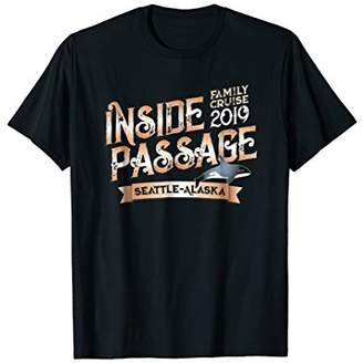 Alaska Cruise Family Vacay Tee for Inside Passage Travelers