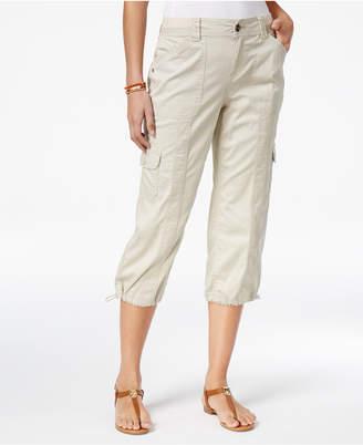 Style&Co. Style & Co Cargo Capri Pants in Regular & Petite Sizes