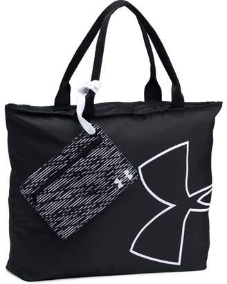 Under Armour Black Big Logo Graphic Tote Bag