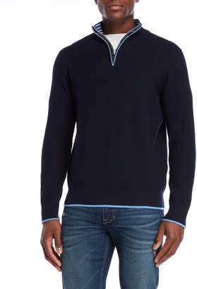 Tailorbyrd Quarter-Zip Pullover Sweater