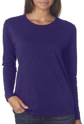 Gildan Missy Fit Heavy Cotton Fit Long-Sleeve T-Shirt3XL 5400L