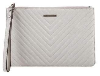 Rebecca Minkoff Quilted Leather Pouch