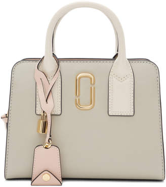 Marc Jacobs Beige and Off-White Little Big Shot Bag