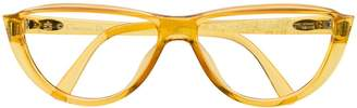 Christian Dior Pre-Owned 1990s angled frame glasses