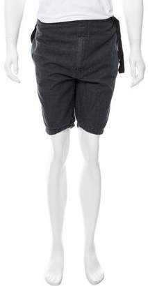 3.1 Phillip Lim Linen-Blend Chambray Shorts