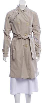 Moncler Double-Breasted Trench Coat