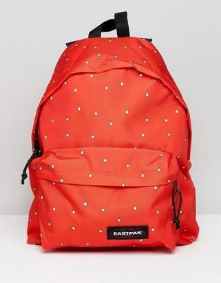Eastpak Red Hand Cursor Padded Pak'r Backpack