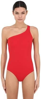 Etoile Isabel Marant Sage Lycra One Shoulder Swimsuit