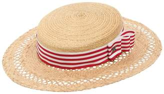 Couture Kreisi Eli Straw Boater Hat