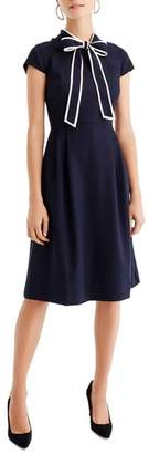 J.Crew Tie-Neck Dress