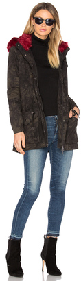 BLANKNYC Faux Fur Parka $178 thestylecure.com