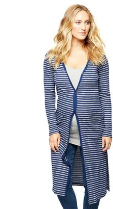Splendid Pea Collection Striped Maternity Cardigan
