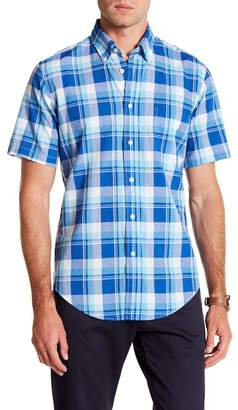 Brooks Brothers Baiting Hollow Short Sleeve Regent Fit Shirt