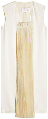 Maison Margiela Dress with Pleated Chiffon