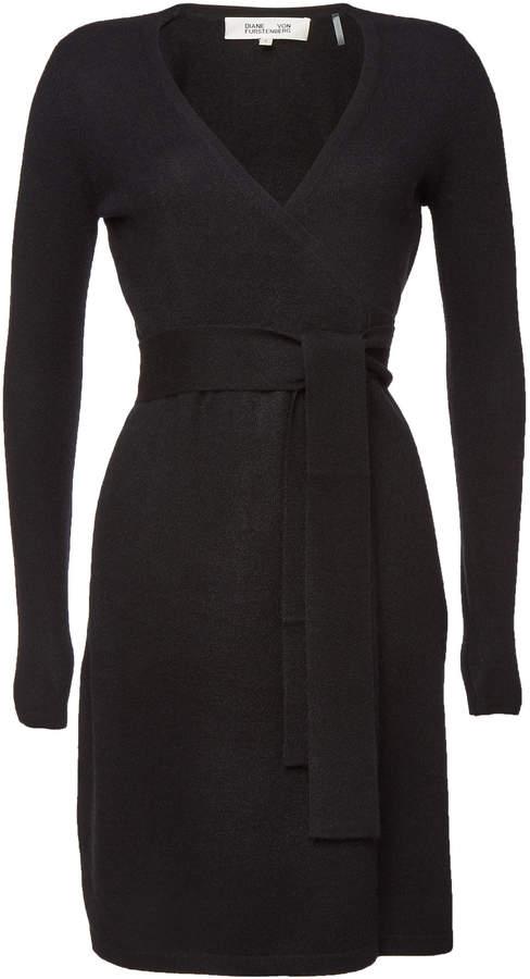 New Linda Cashmere Wrap Dress