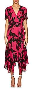 A.L.C. Women's Cora Floral Silk Wrap Dress - Pink
