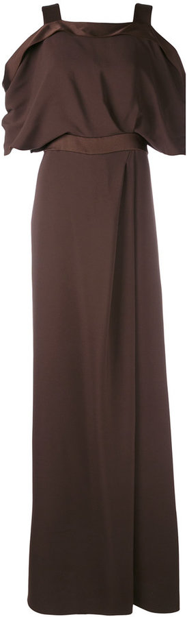 Max Mara Max Mara cold shoulder dress