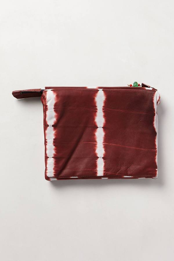 Anthropologie Legend & Song Shibori Rings Pouch