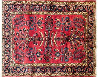 """One Kings Lane Vintage Persian Lilihan Rug - 4'9"""" x 6'2 - Eli Peer Oriental Rugs"""