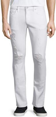 J Brand Men's Kane Distressed Straight-Leg Jeans