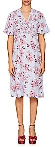 By Ti Mo byTiMo Women's Floral Crepe A-Line Dress - Purple