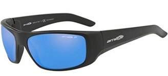 Arnette Men's Hotspot Polarized Iridium Rectangular Sunglasses