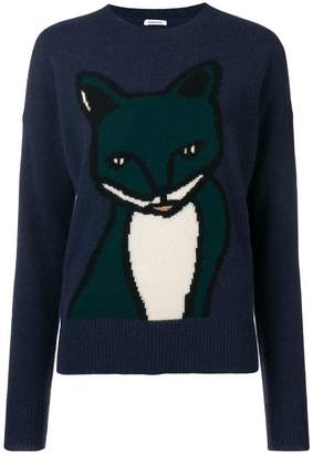 P.A.R.O.S.H. animal embroidered sweater