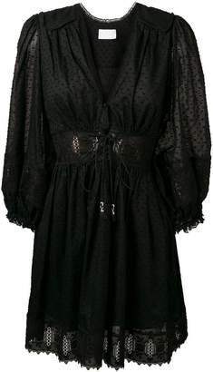Zimmermann V-neck dotted dress