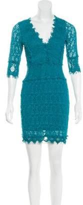 Nightcap Clothing Laced Mini Dress