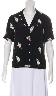 Capulet Printed Button-Up Top w/ Tags