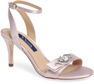 Nina Kabira Swarovski Embellished Strappy Sandal