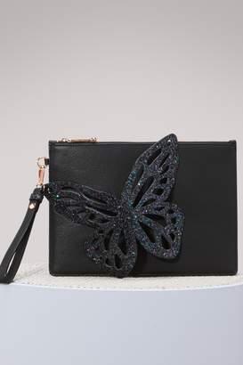 Pre-owned - Leather clutch bag Sophia Webster ZfVazX
