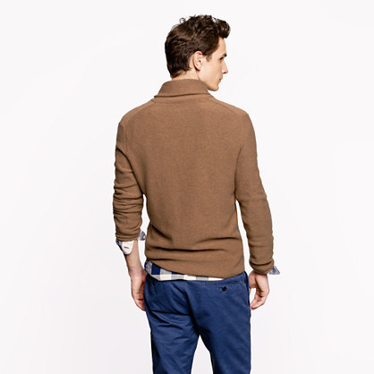 J.Crew Cashmere shawl-collar sweater