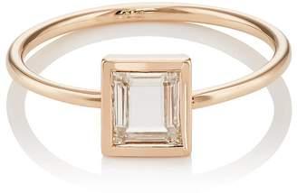 Eva Fehren Women's Portrait-Cut White Diamond Ring