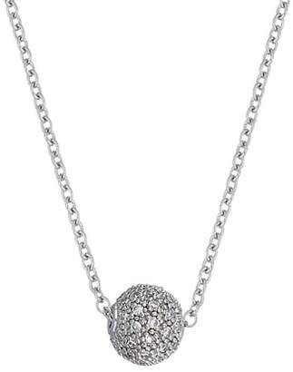 Carriere JEWELRY Diamond Ball Pendant Necklace
