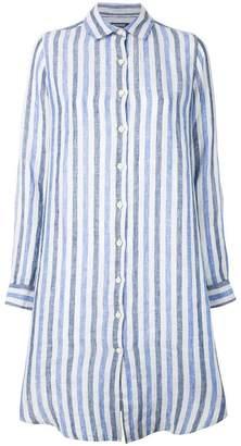 Woolrich oversized striped shirt