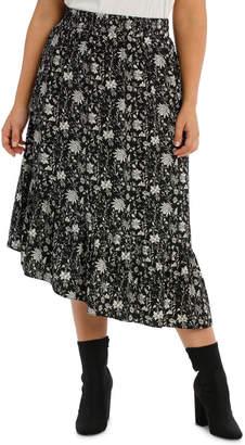 Skirt Bruised Polyester