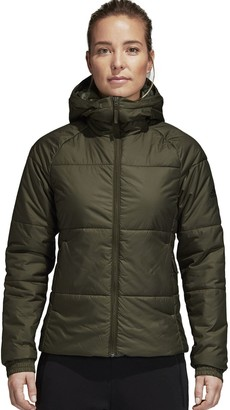 adidas Women's Hooded Quilted Puffer Jacket