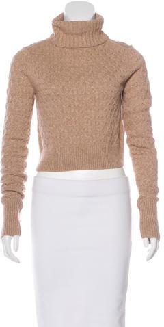 A.L.C.A.L.C. Cropped Turtleneck Sweater