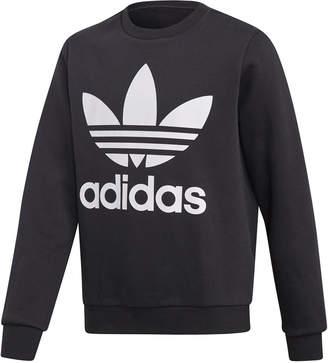 adidas Big Boys Logo Graphic Sweatshirt