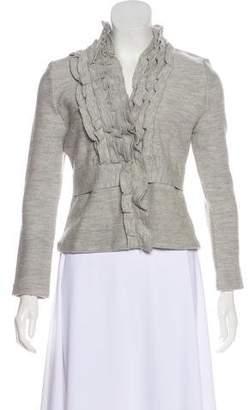 BCBGMAXAZRIA Wool Knit Cardigan