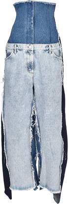 Natasha Zinko Oversized High-rise Jeans