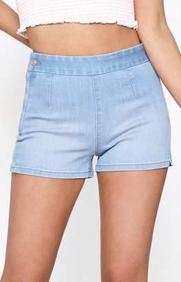 PacSun Euro Blue Tap Shorts