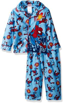 Marvel Toddler Boys' Spiderman 2-Piece Pajama Coat Set